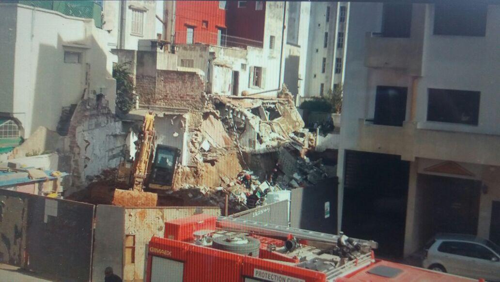 عاجل. انهيار عمارة سكنية على مقربة من القناة الأولى بالرباط وحديث عن سقوط ضحايا