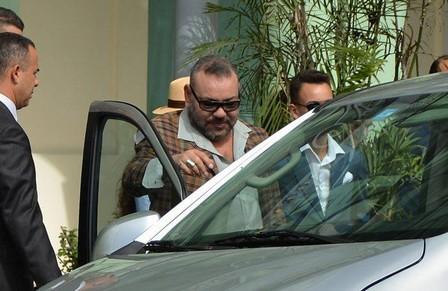 صور الملك من العاصمة هافانا تحتل حيزا هاما على صفحات الصحافة الكوبية