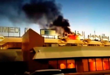 مكتب المطارات يوضح حقيقة الحريق الذي شب بمطار محمد الخامس