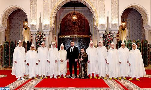 الملك يستقبل رئيس وأعضاء المحكمة الدستورية ويعينهم في مهامهم الجديدة