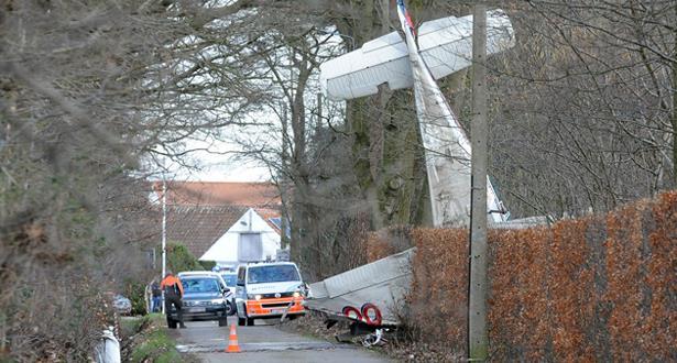 مصرع شخصين في حادث تحطم طائرة ببلجيكا