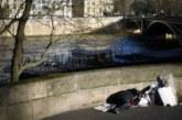 نحو ثلاثة آلاف مشردا ينامون في العراء بباريس