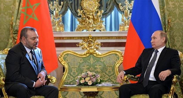 الملك محمد السادس يعزي الرئيس الروسي بعد حادث الطائرة