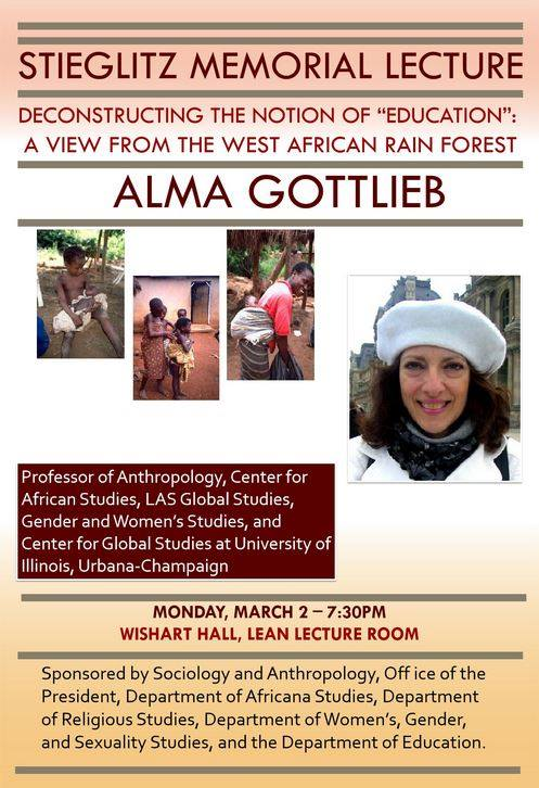 College of Wooster Talk Flyer, 3-2-15