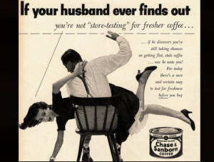Sexist Ad for Coffee