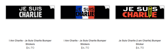 I am Charlie Bumper Stickers