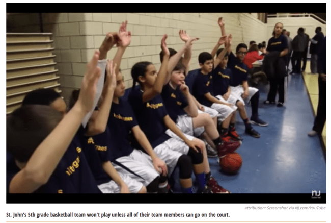 5th Grade Basketball Team in NJ Votes to Forfeit Season for Feminism