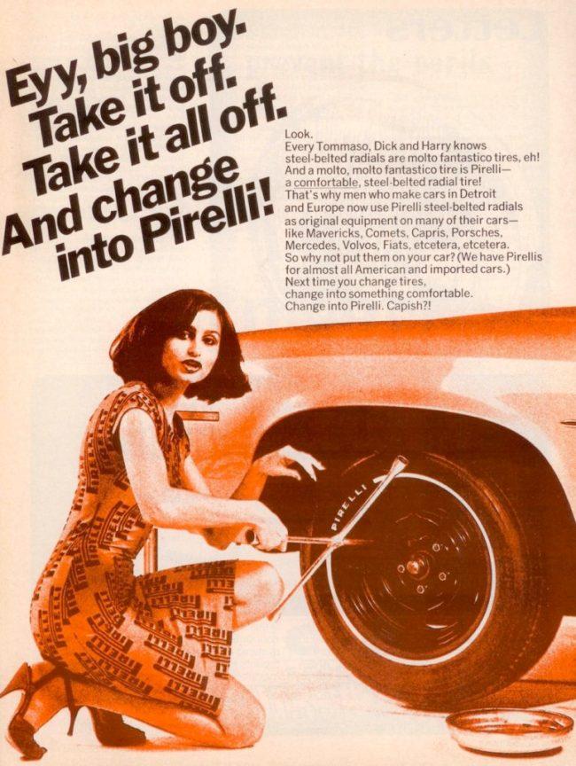 Pirelli Tire Ad