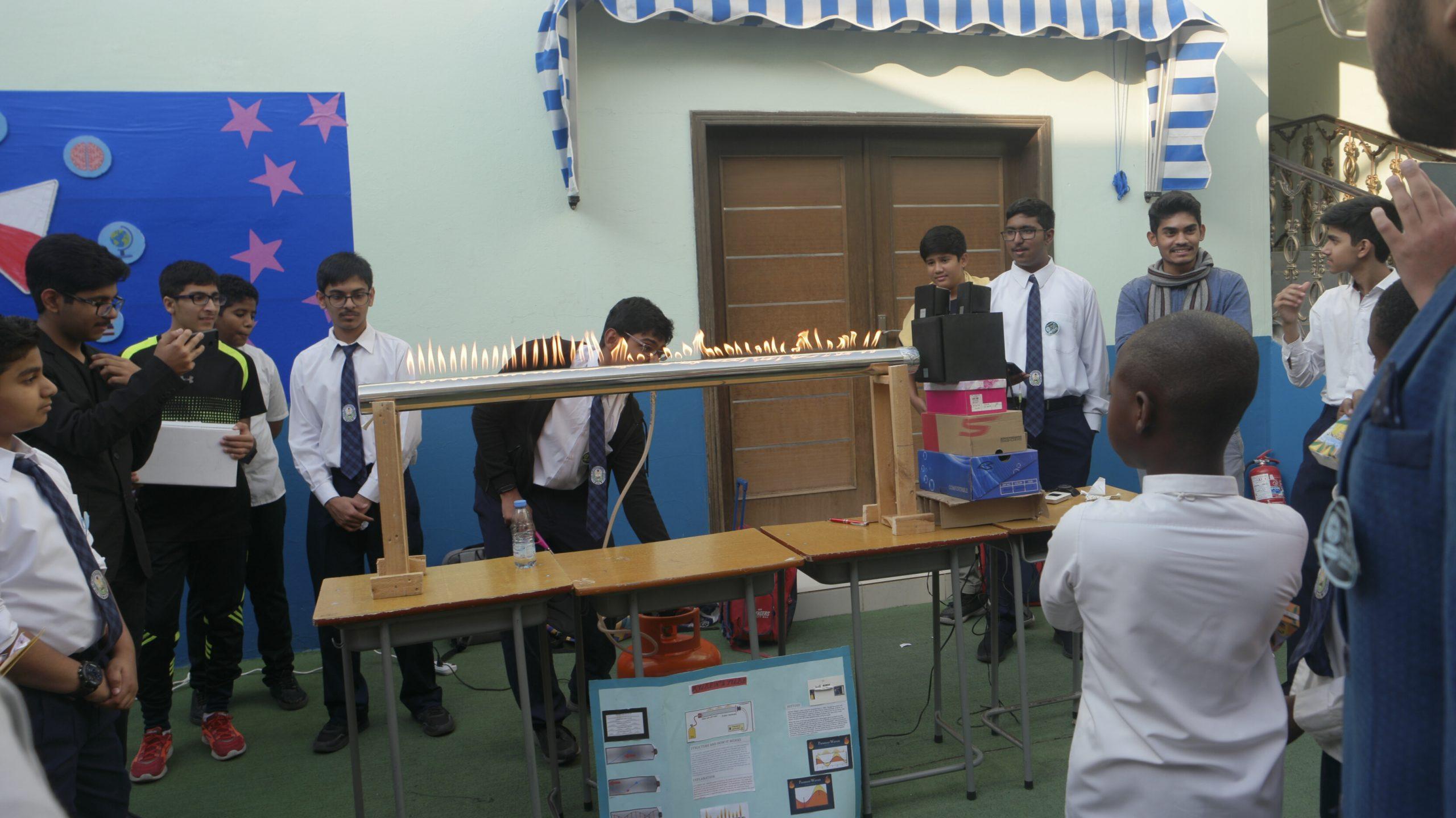 Eduex Boys Section Al Majd International School In