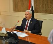 محافظ مطروح يكلف أبو غنيمة بمتابعة انضباط الوحدات المحلية