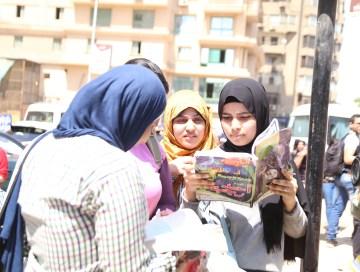 """طلاب بالثانوية العامة لـ""""المال"""": امتحان العربي سهل وهناك أسئلة ذكاء (فيديو)"""