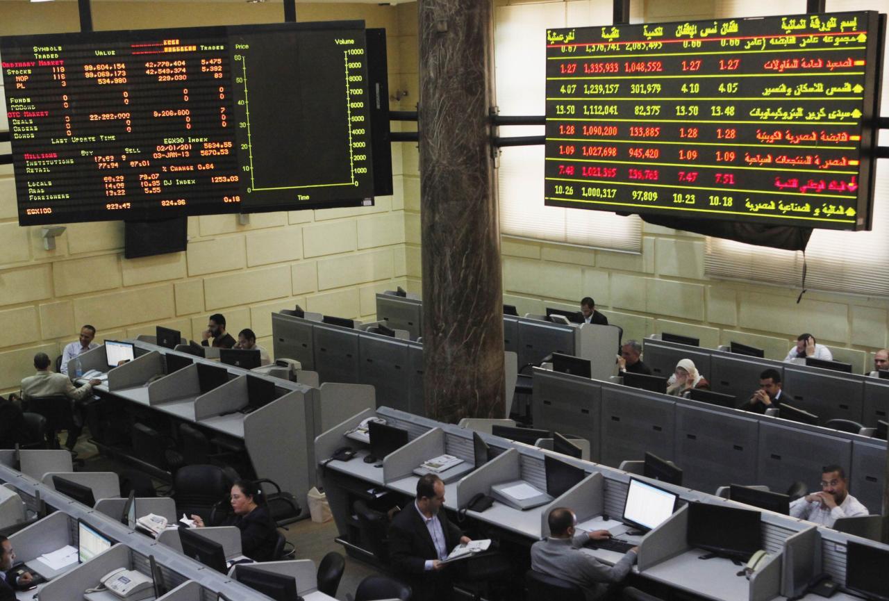 نعيم : البورصة المصرية تختبر مقاومة 14540 نقطة - جريدة المال