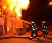 السيطرة على حريق كنيسة مارجرجس بحلوان.. ومتحدث الأرثوذكسية: أضرار كبيرة بالمبنى (صور)