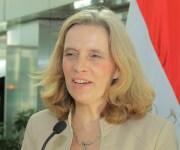 سفيرة بلجيكا بالقاهرة : مصر أصبحت من الأطراف اللاعبة في قطاع الطاقة