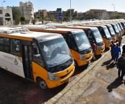 تشغيل أتوبيسات نقل جماعي على مسار ترام مصر الجديدة