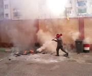 انتقامًا لرسوبه.. طالب يشعل النار في معهد أزهري