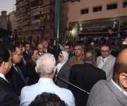 رئيس الوزراء يتفقد معهد الأورام ويزور المصابين.. و«المقاولون العرب» تبدأ أعمال الإصلاح