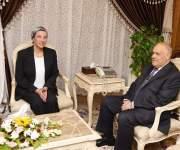 وزيرة البيئة تلتقي رئيس العربية للتصنيع لتفعيل منظومة المخلفات الجديدة