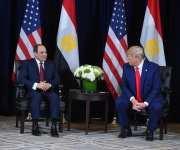 ترامب يلتقي السيسي ويشيد بجهود مصر في التصدي للإرهاب (صور)