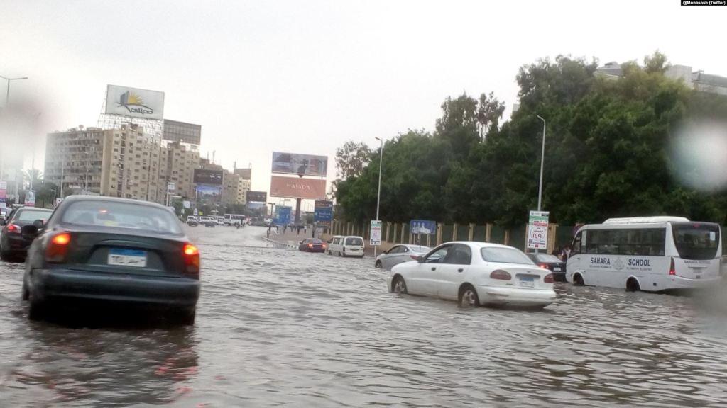 مياه الأمطار فى مصر