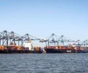 ميناء دمياط يستقبل 6000 طن ذرة ويُصدر 250 طن أرز