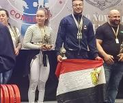 طالب بهندسة قناة السويس يقتنص لقب أقوى ناشئ في العالم في بطولة القوي البدنية (صور)
