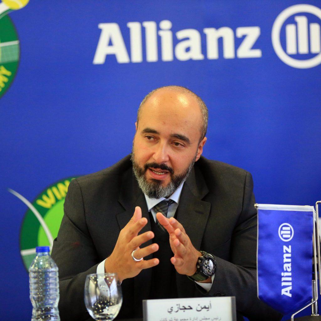 أيمن حجازي - رئيس مجلس إدارة مجموعة شركات أليانز في مصر