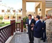 السيسي يتفقد فرع جامعة الملك سلمان بشرم الشيخ (صور)