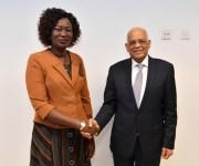 رئيس النواب: زيارة الوفد البرلماني لجنوب السودان رسالة دعم ومؤازرة من الشعب المصري (صور)