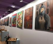 ثلاثة معارض فن تشكيلي بمركز الجزيرة للفنون (صور)