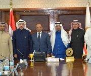 وزير التنمية المحلية يستقبل رئيس مجلس الأعمال المصرى السعودى