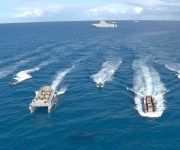 القوات المسلحة تعلن تنفيذ عملية برمائية كاملة بـ البحر المتوسط (صور)
