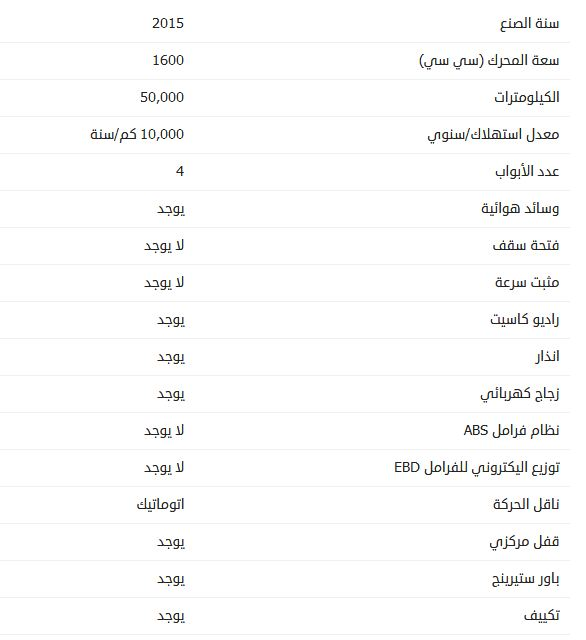 أسعار بي واي دي F3 موديل 2015
