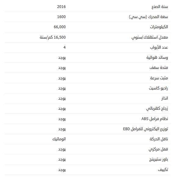أسعار مازدا 3 مستعملة 2016