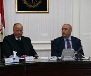 وزير الإسكان ومحافظ القاهرة يستعرضان المُخطط المقترح لتطوير كنيسة العذراء بالزيتون