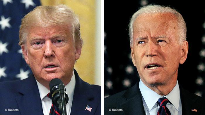 دونالد ترامب و جو بايدن