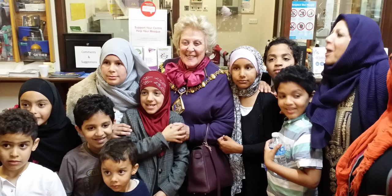 The Mayor of Kensington and Chelsea visited Al Manaar centre