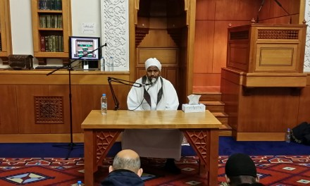 Sheikh Abdul Rashid Sofi Visted Almanaar
