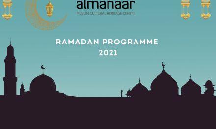 Ramadan Prayer Timetable 2021