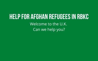 Help For Afghan Refugees In RBKC