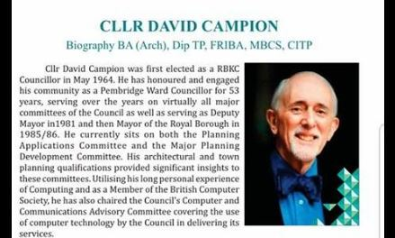 Al-Manaar celebrates the contributions of Cllr David Campion