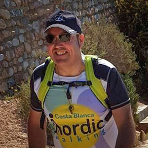 Andrés Mora - Costa Blanca Nordic Walking
