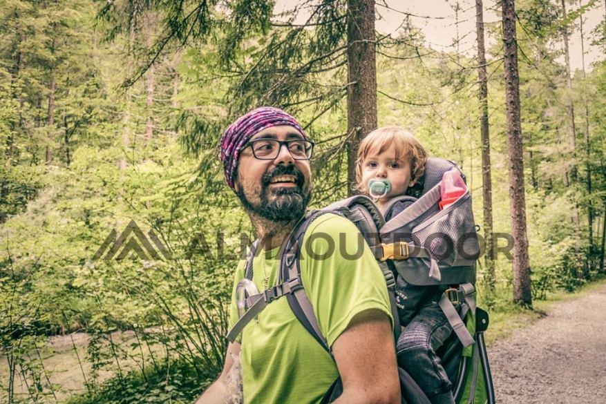 Mejores mochilas portabebés para montaña, senderismo y trekking