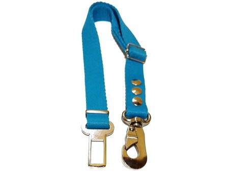 Cinturon de seguridad reglamentario perros reforzado. Correa para auto