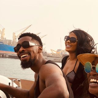 All we wanna do is make you happy 😃  Here are some excerpts from the #luxlifestylecruise on Sunday. Courtesy of @alluviamarine and @luxlifestyle.ng 💦🌊🏝 #sailing #boat #boatcruise #luxurylifestyle #lagos #nigeria