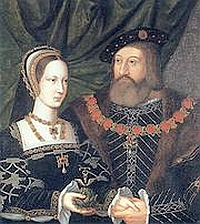 Mary Tudor, Queen of France, daughter of Henry VII of England, sister of Henry VIII, wife of Louis XII of France and then of Charles Brandon, 1st duke of Suffolk; Mary and Charles were the maternal grandparents of Lady Jane Grey