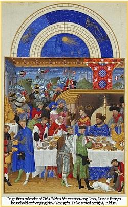 Très Riches Heures calendar page