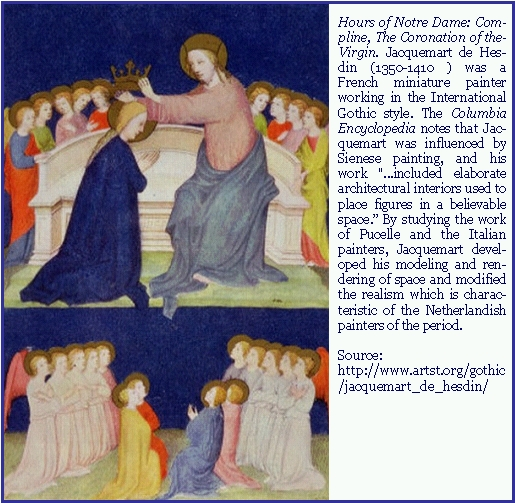 Compline — Coronation of the Virgin
