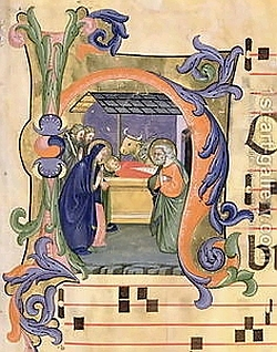 Nativity from an Antiphon