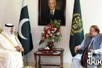 Prime Minister of Pakistan receives Prince Sultan bin Salman and offers a luncheon in his honor